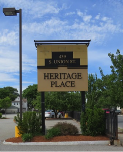 Heritage Place Sign